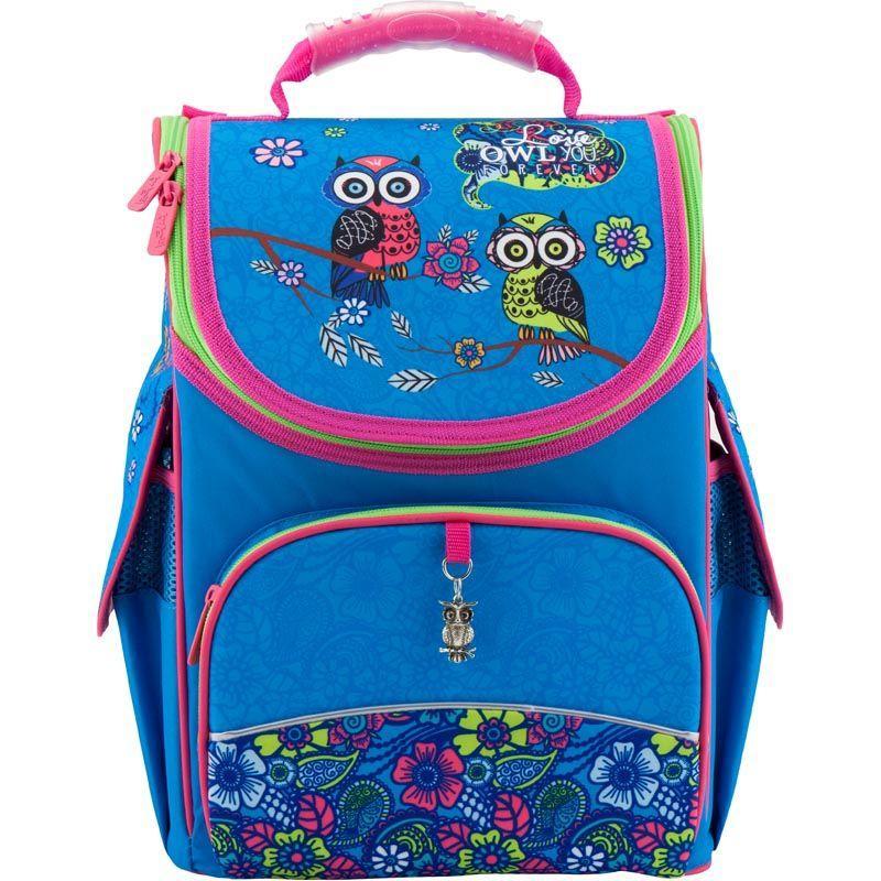 Рюкзак школьный каркасный Pretty owls K18-501S-6, S (115-130 см)
