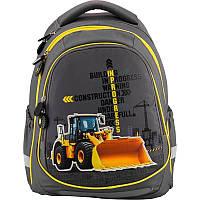 Рюкзак школьный Under construction K18-700M-1, M (130-145 см), фото 1
