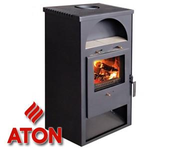 Дровяная печь-камин Aton Ardent 6 кВт