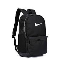 Рюкзак мужской черный качественный школьный спортивный Nike Найк