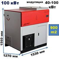Пелетний Котел автоматичний Lafat Eco Pro 100 кВт. (Боснія і Герцеговина), фото 1