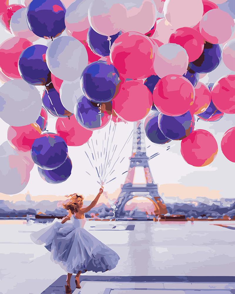 Картина по номерам  Весёлое настроение, 40x50 см., Rainbow art