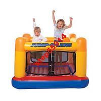 Надувной детский игровой центр-батут Intex 48260