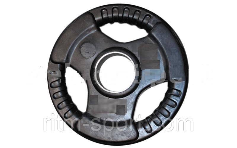 Блины (диск) стальные с хватом вес 10 кг, d 52мм