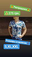 Мужская  футболка с ярким принтом, фото 1