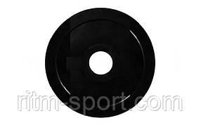 Блины (диск) обрезиненный вес 15 кг, d 52мм