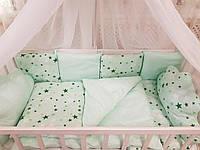 Комплект детского постельного в кроватку Облако, фото 1