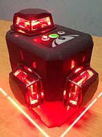 Лазерный 3D уровень Deko HV-LL12 (лазерний рівень), 2 li-ion батареи+ОТКАЛИБРОВАН ИДЕАЛЬНО, фото 1