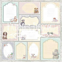 Карточки для декора Baby Shabby (рус) набор 2