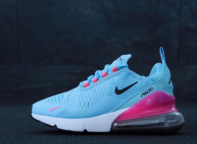 Женские кроссовки Nike Air Max 270 Blue фото