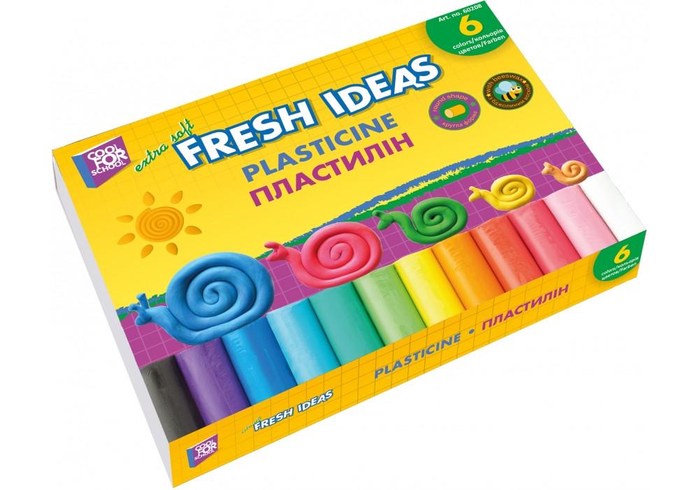 Пластилін 6 кольорів