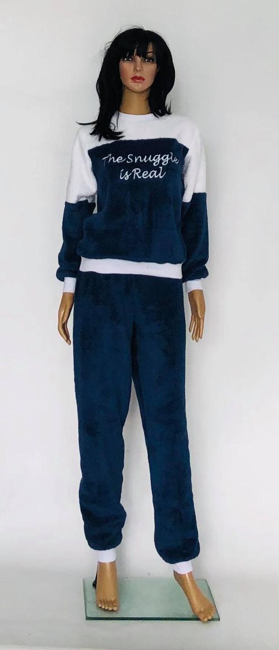 Однотонная пижама,домашний костюм махровый