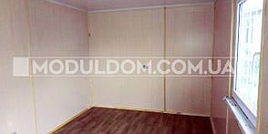 Вагончик жилой (9 х 3 м.), общежитие, офис, на основе цельно-сварного металлокаркаса., фото 3