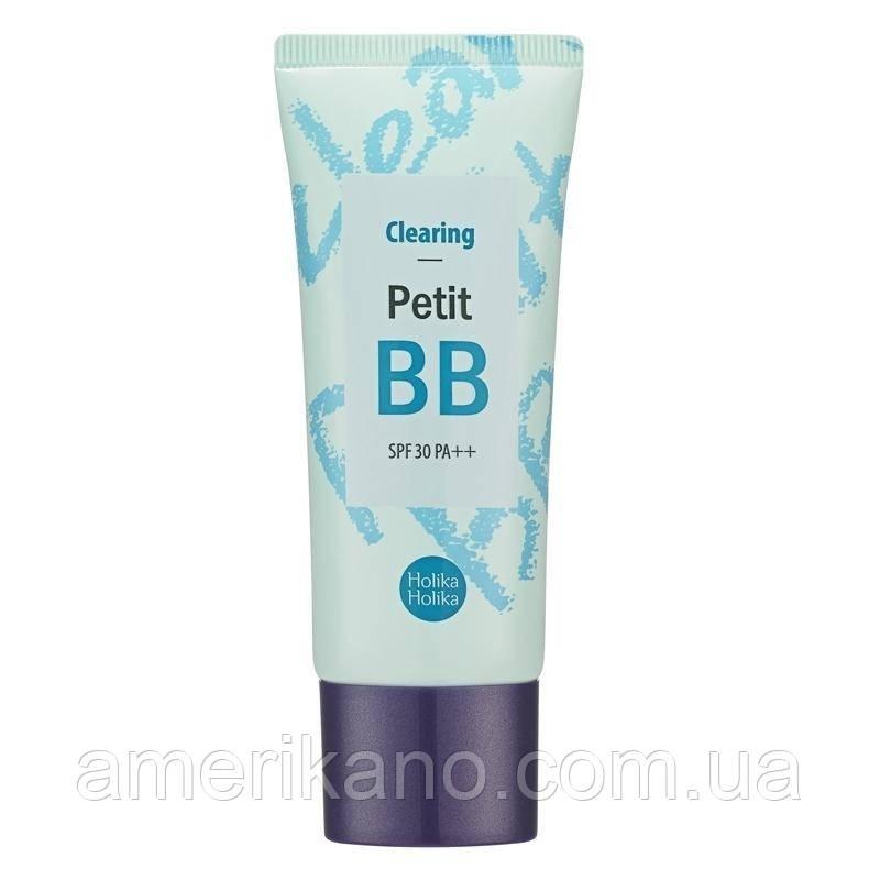 Очищающий BB крем HOLIKA HOLIKA Petit BB Cream Clearing, 30 мл