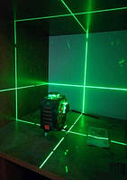 Лазерный 3D нивелир Fukuda MW 93Tgreen + Li-ion (3*360) [зеленый луч, аналог Bosch GLL 3-80CG], фото 1