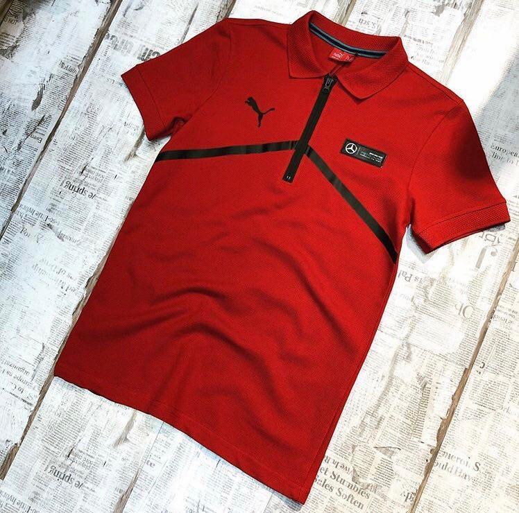 Мужская футболка Puma Mercedes Polo