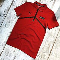 Мужская футболка Puma Mercedes Polo, фото 1