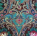 Песнь уходящего лета 1827-17, павлопосадский платок шерстяной с шелковой бахромой, фото 6