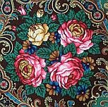 Песнь уходящего лета 1827-17, павлопосадский платок шерстяной с шелковой бахромой, фото 3