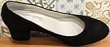 Туфли женские замшевые от производителя модель КЛ8003-6, фото 4