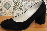Туфли женские замшевые от производителя модель КЛ8003-6, фото 2