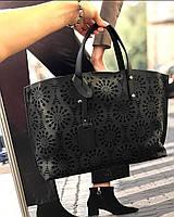Большая Женская Кожаная сумка  маст-хэв Италия сумки  в натуральной коже Итальянские, фото 1