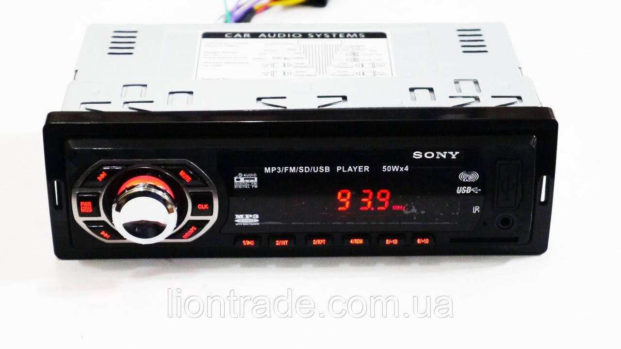 Автомагнитола Sony GT-640U ISO USB+SD+FM+AUX+ пульт(4x50W)