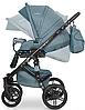 Детская универсальная коляска 2 в 1 Riko Brano Natural 02 Adriatic, фото 4