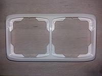 Рамка двойная горизонтальная ABB Tango, фото 1