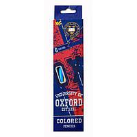 """Карандаши 6 цветов """"Oxford"""""""