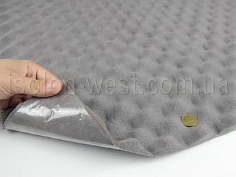 Шумопоглощающий материал для авто Герметон А15 (волна) лист 1000х750мм толщина 15мм