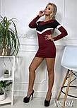 Женское трикотажное платье (2 цвета), фото 5