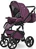Детская универсальная коляска 2 в 1 Riko Brano Natural 03 Purple, фото 3