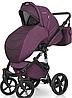 Детская универсальная коляска 2 в 1 Riko Brano Natural 03 Purple, фото 2