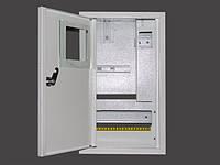 Шкаф под электронный счетчик +10 автоматов+УЗО накладной
