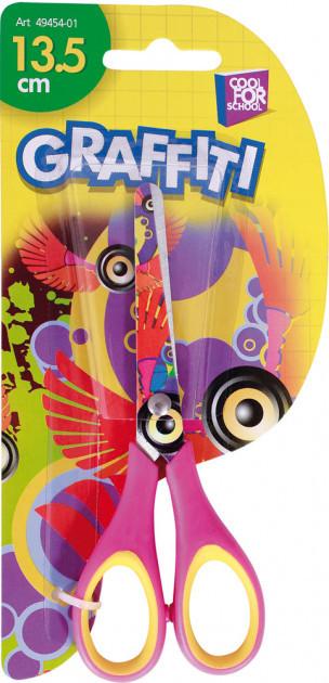Ножницы детские Cool For School 13,5 см GRAFFITI