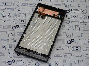 Б.У. Оригинал модуль дисплея в сборе Sony Xperia SP C5303 серый