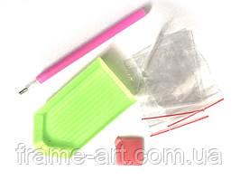 Комплект стилус+клей+пластиковый лоток