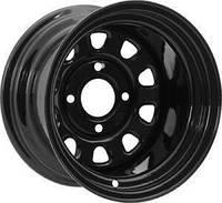 Стальной колесный диск на квадроцикл ITP Steel Delta Black 12×7 2+5 4/136
