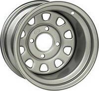 Стальной колесный диск на квадроцикл ITP Steel Delta Silver 12×7 5+2 4/110