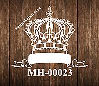 Свадебная монограмма герб МН-00023