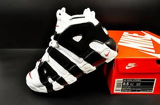 Кроссовки Nike Air More Uptempo арт 20618 (мужские, белые, найк), фото 2