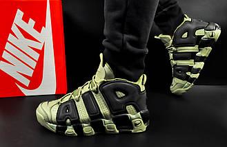 Кроссовки Nike Air More Uptempo арт 20615 (мужские, хаки, найк), фото 3