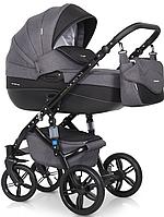 Детская универсальная коляска 2 в 1 Riko Brano Natural 07 Carbon