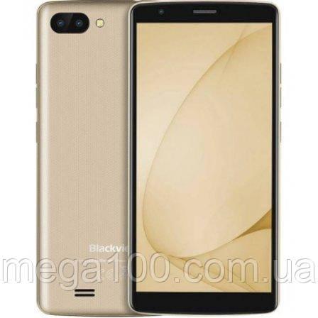 Смартфон Blackview A20 pro золотой (5.5 дюймов, памяти 2/16, акб 3000 мАч)