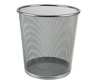 Корзина для паперу 260х280 мм метал сріблястий