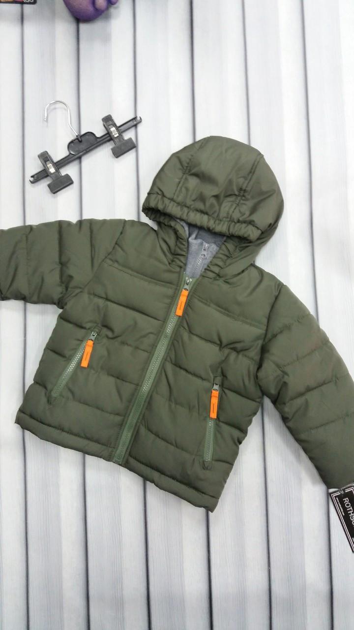 Теплая куртка для мальчика Rothschild