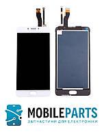 Дисплей для телефона Meizu M5 Note (M621) с сенсорным стеклом (Белый) Оригинал Китай