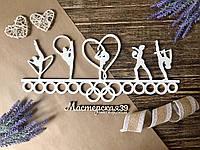 Медальница «Художественная гимнастика белая»