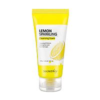 Пенка для умывания с лимоном SECRET KEY Lemon Sparkling Cleansing Foam, 120 мл